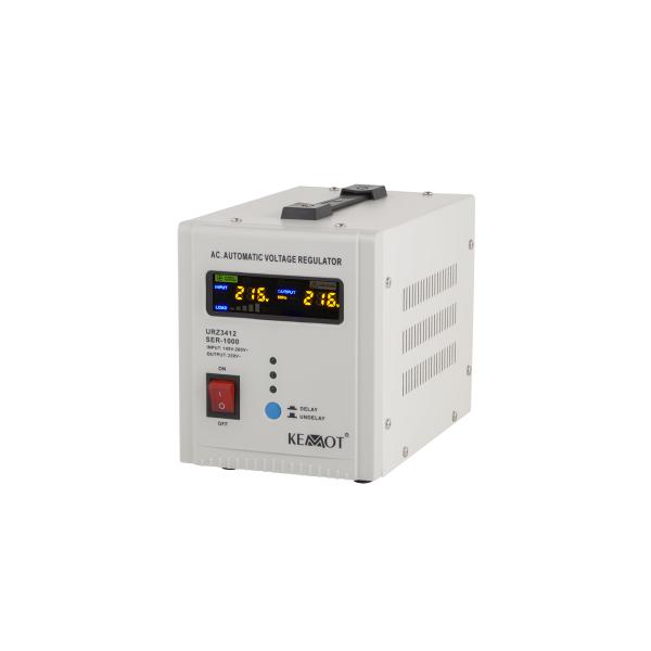 220V įtampos stabilizatorius 1000VA Kemot SER-1000