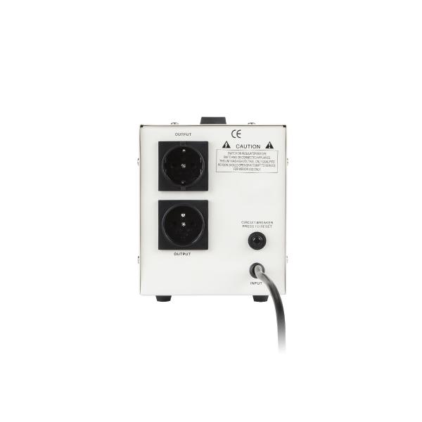 220V įtampos stabilizatorius 2000VA Kemot SER-2000-2