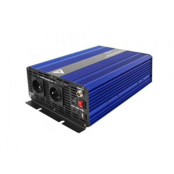 Įtampos keitiklis iš 12V į 220V 1500 3000W Sinus IPS-3000S