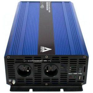 Įtampos keitiklis iš 12V į 220V 2000 / 4000W Sinus IPS-4000S