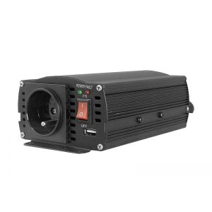 Įtampos keitiklis iš 12V24V į 220V 300600W VOLT IPS-600 Duo