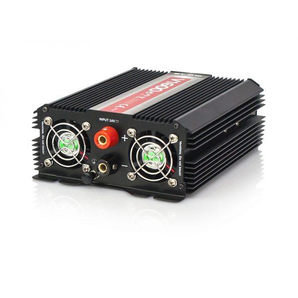 Įtampos keitiklis iš 24V į 220V 800/1600W Blow-2