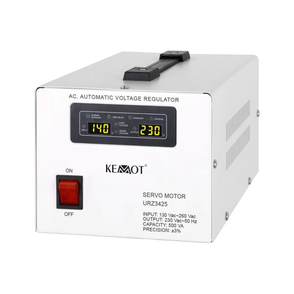 220V įtampos stabilizatorius 500VA Kemot MSER-500
