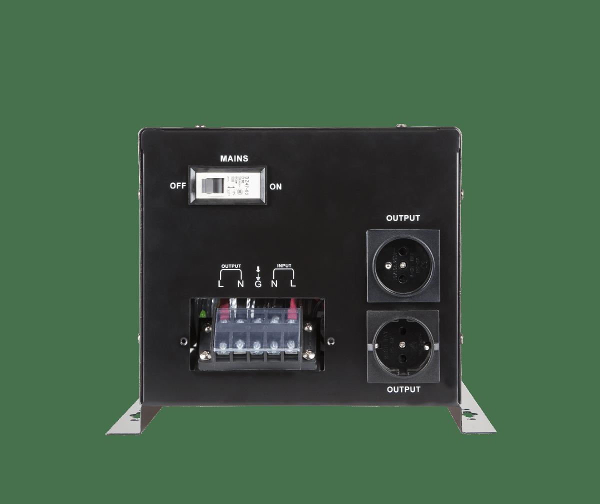 Nepertraukiamas maitinimo šaltinis (katilui) 12V / 220V 1600W Kemot PROsinus-2